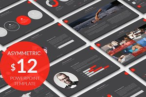 Asymmetric Powerpoint Template