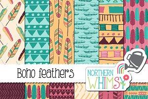 Boho Tribal Patterns