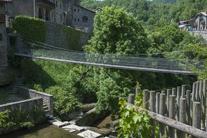 Rupit suspension bridge