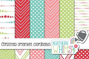 Pink, Red, Mint & Aqua Geometrics