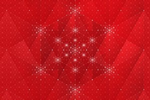 Christmas Holiday Snowflake Pattern