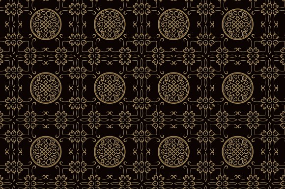 Dark Chinese Wallpaper