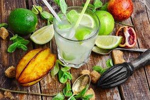 glass of citrus juice
