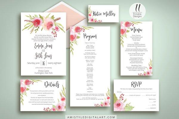 Rose Wedding Set