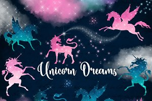 Unicorn Dreams Clipart