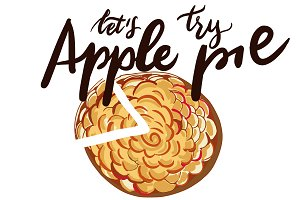 Apple pie + apple patterns