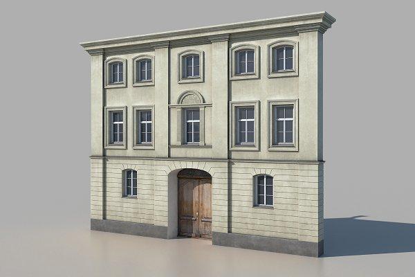 3D Models: Sun Studio - European tenement 02