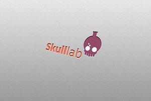 Skulllab - Laboratory Logo Template