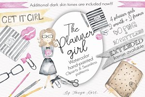 SALE The Planner Girl Watercolor Kit