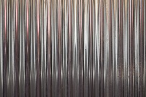 grey corrugated steel texture background