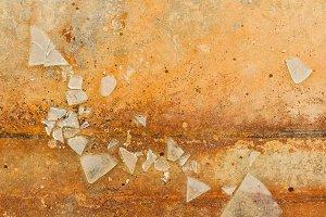 Shards of broken glass 1