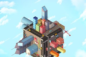 Megapolis Cube City Pack
