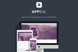 Appeal  - App Landing Page