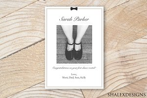 "Dance Recital Template (5x7"")"