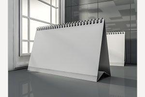 Desk Blank Calendar