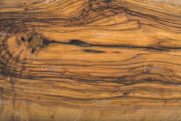 Old Olive Wood Slab Texture Or Background Textures Creative Market