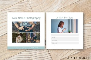 Gift Certificate White Template