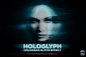Hologlyph - Hologram Glitch Effect