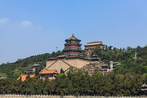 Summer Palace complex on the Longevity Hill, Beijing