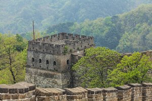 Signal tower of the Great Wall of China