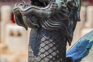 Head of bronze turtle in Fobidden city
