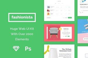 Fashionista UI Kit