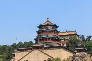The Tower of Buddhist Incense in Beijing