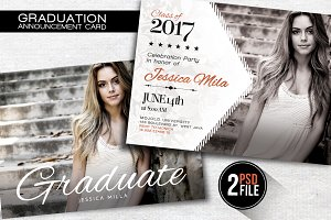 Graduation Announcement Card
