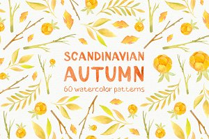 Scandinavian Fall patterns