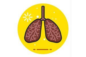 Lungs Smoker icon