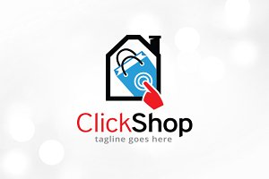 Click Shop Logo Template Design
