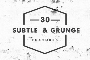 30 High-Res Subtle & Grunge Textures