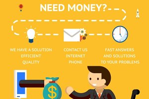 Need money concept