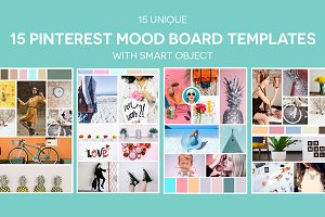 15 Pinterest Mood Board Templates V2