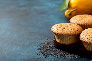 Lemon muffin