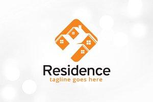 Residence Logo Template Design