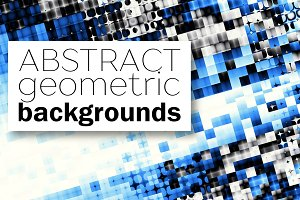70 geometric abstract backgrounds!