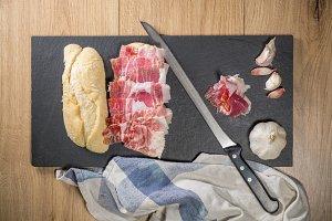 Iberian Acorn Ham Sandwich