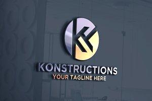 letter K | Logo Template
