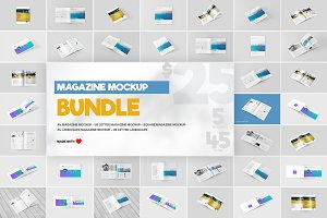 Magazine Mock-Ups Bundle