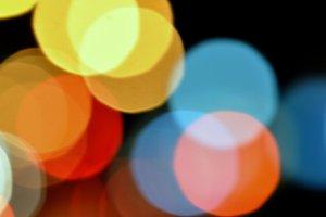 Abstract Lights Night