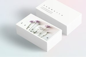 Isabella-floral business card