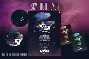 SKY HIGH flyer