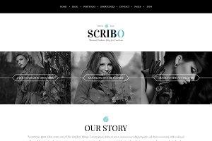 Scribo - Fashion Blog Template