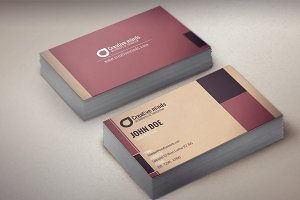 Artex:Modern Business Card Template