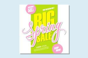 Big Spring Sale.