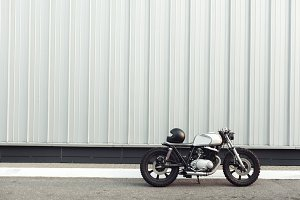cafe racer - vintage motorcycle