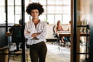 Creative female executive