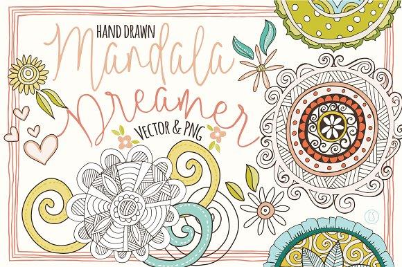 Mandala Clipart Decorative Elements