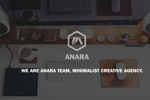 Anara - OnePage Muse Template
